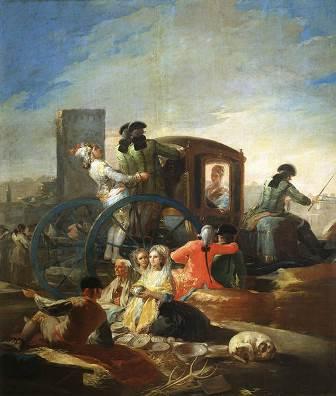Cartones tapices Goya, Museo del Prado