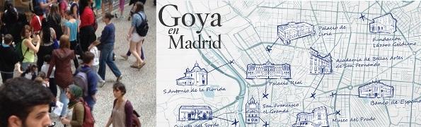 Mapa Goya Museo del Prado-Logopress