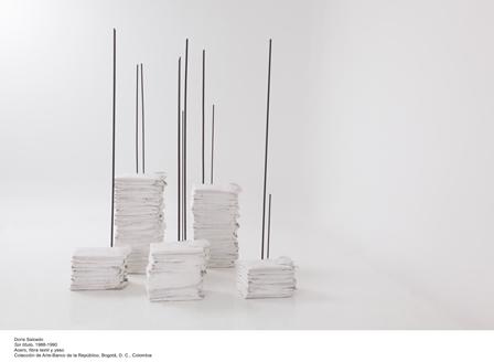 Sin titulo, Doris Salcedo, Colección Arte Banco de la República, Bogotá, Colombia