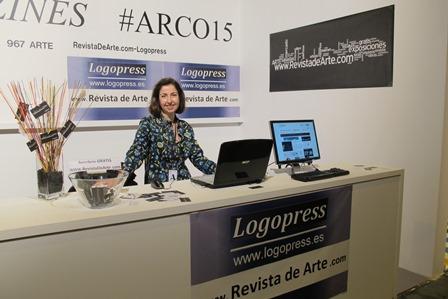 Stand RevistaDeArte-LOGOPRESS en ARCO 2015. Foto LOGOPRESS (1)