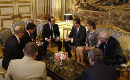 Reyes en París
