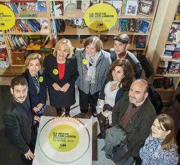 Más de 600 actividades y 500 autores en La Noche de los Libros de la Comunidad de Madrid