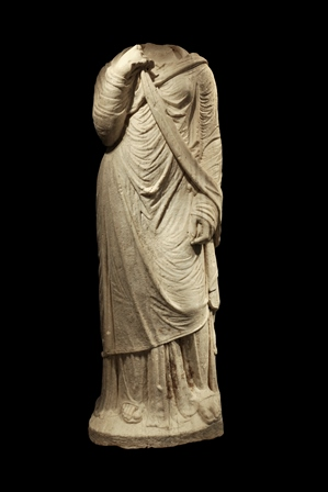 Estatua todada romana del siglo I. Galería J. Bagot Arqueología Ancient Art