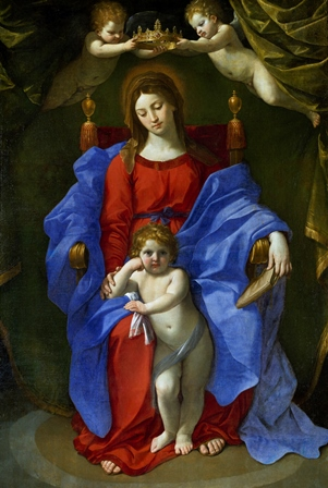 Virgen de la silla Guido Reni