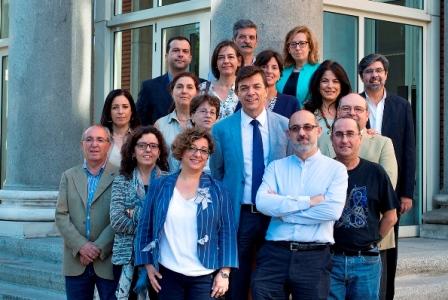 foto nuevos cargos académicos equipo rectoral UCM junio 2015