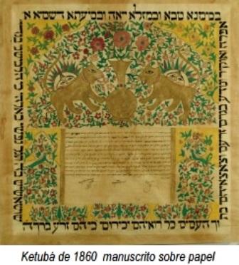 manuscrito-Ketubá-1860