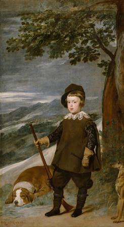 Baltasar-Carlos-cazador.-Velázquez