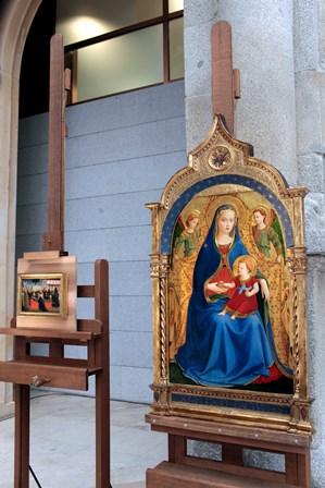 Rueda de prensa de la adquisición de obra de Fra Angélico por el Museo del Prado