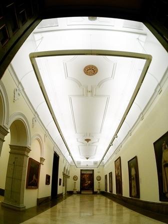 Nueva iluminación en el Museo de Bellas Artes de San Fernando