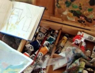 Curso de Pintura 2016 Fundación Santa María de Albarracín