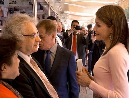 Doña-Letizia-con-Amin-Maalouf