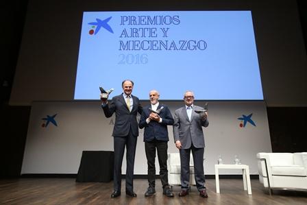 Entrega Premios Arte y Mecenazgo 2016 8 - OS la Caixa