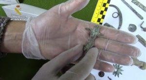 Guardia civil arqueología  piezas 2016