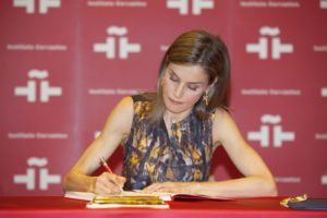 Reina Letizia, Instituto Cervantes