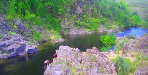 Acampando en San Marcos Sierra y El Durazno