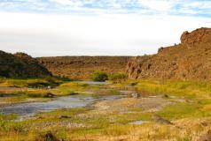 El Saltillo, arte de un río