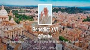 cuenta del papa en twitter 300x166 Todos los mensajes de Benedicto XVI en Twitter, cuenta ya cancelada