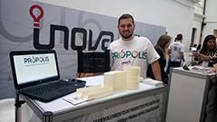 Apresentação do Projeto Própolis na Mostra Inova Minas Fapemig - Imagem: Divulgação