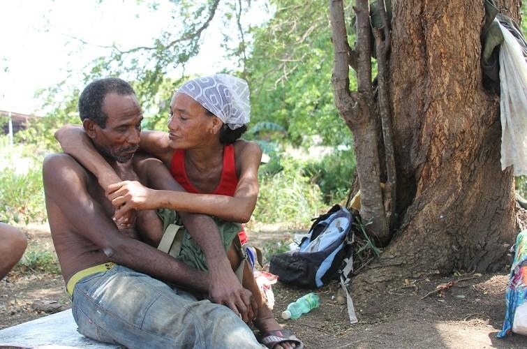 Chen y Luz María / Foto: El Estornudo