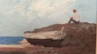 Hombre frente al mar / Pedro de Valencia