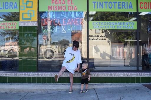 Legna Rodríguez Iglesias. En un Laundry. Miami/ Foto: Cortesía de la autora