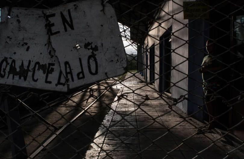 Marcelo Caballero. Tren cancelado (Matanzas, Cuba).