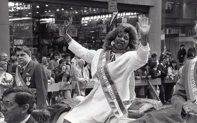 Celia Cruz en Nueva York / Foto: Internet