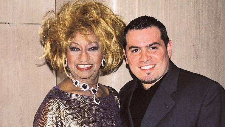 Celia Cruz y Omer Pardillo