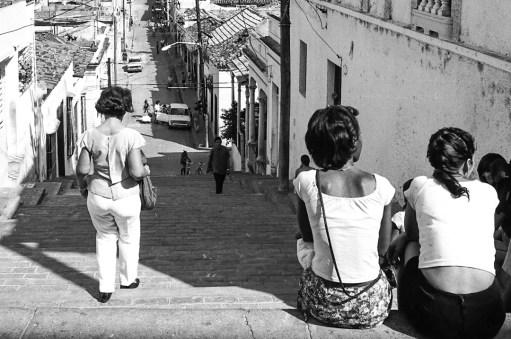William Riera. Las escalinatas de Santiago (Padre Pico).