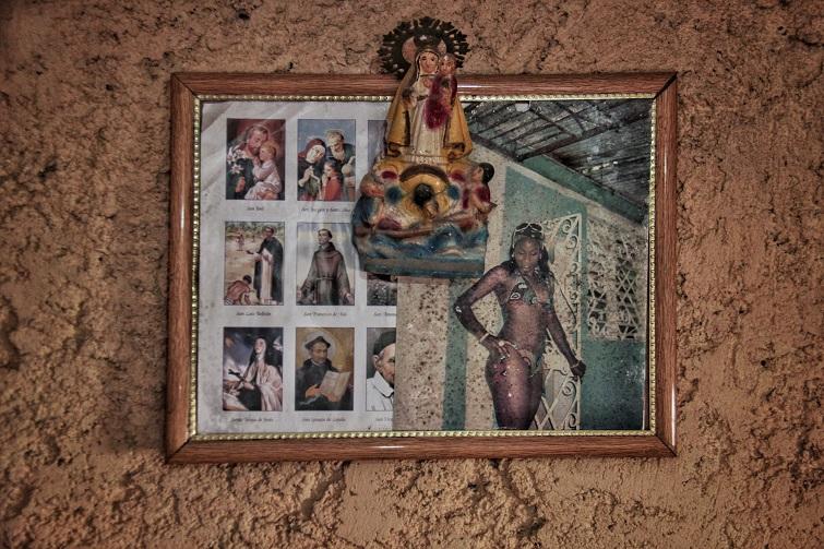 Altar en casa de Tamara / Foto: Mario Luis Reyes