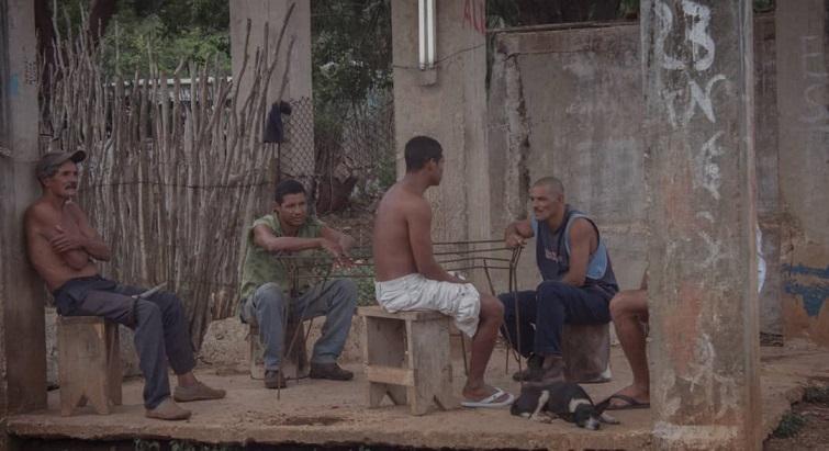 Cubanos reunidos / Foto: Alex Medina