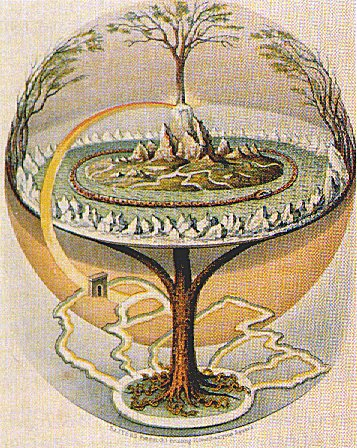 Yggdrasil. A Árvore do Mundo / Wikipedia