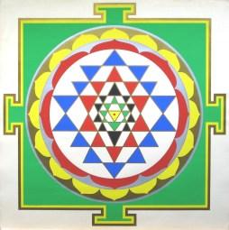 Mandala do Sri Yantra / wikimedia