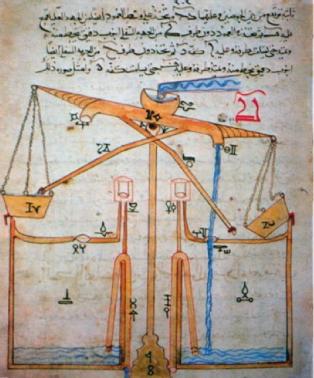 Engenho hidraulico de al-Yazari.