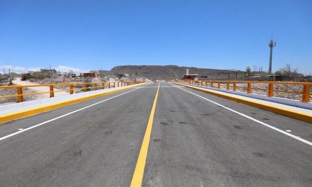 Entregan obras estratégicas en Baja California Sur