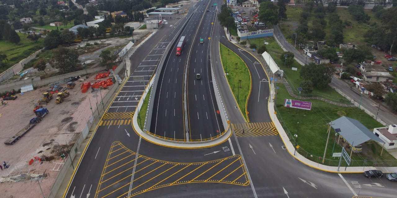 Inauguran el Paso Inferior Vehicular Ocotoxco, en Tlaxcala