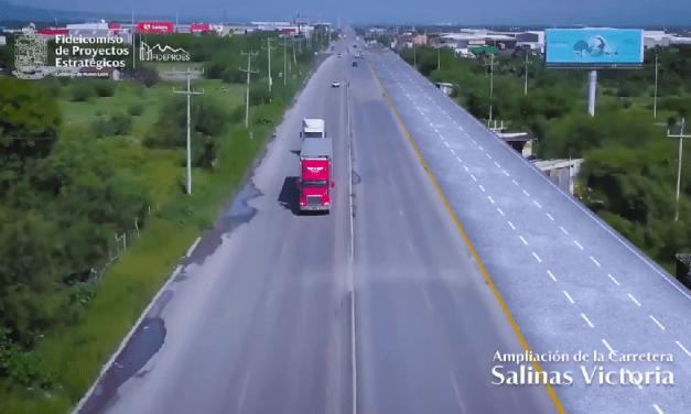 Inicia ampliación de la carretera a SalinasVictoria en Nuevo León