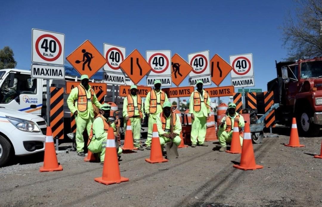 Programa Nacional de Conservación de Carreteras 2021 presenta un avance del 77 por ciento