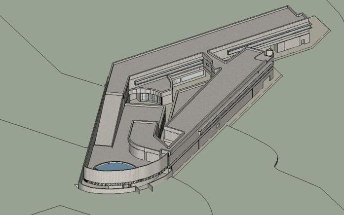 Proyecto para el Centro de Alto Rendimiento Deportivo de Panticosa (antiguo Balneario)