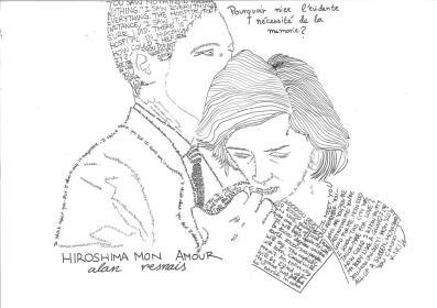 Hiroshima, mon amour, Alan Resnais con texto de Marguerite Duras, por Sara Barquinero