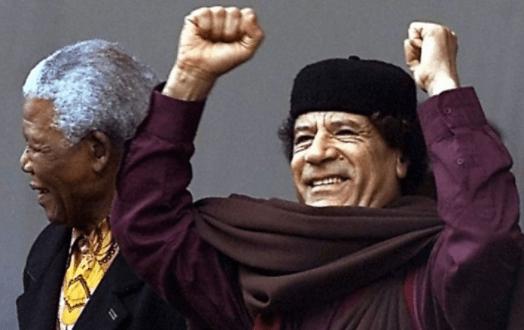Libia, Imperialismo, Gadafi, asesinato político