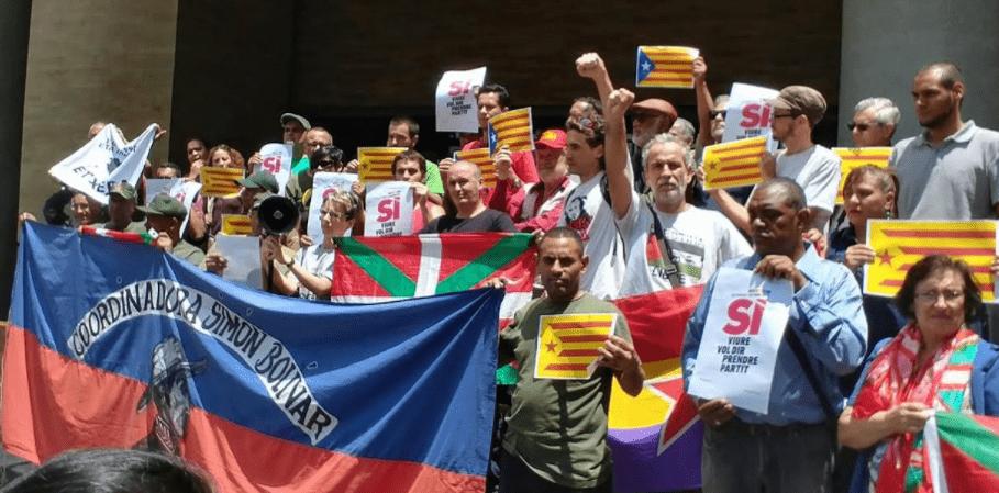 """Catalunya: una visión desde Venezuela. Percepciones sobre """"el procés"""" en el ámbito internacional."""