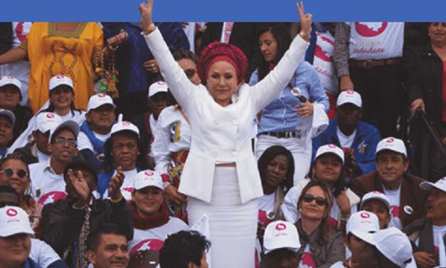 Piedad Córboda: candidata a las presidenciales en Colombia, 2018. Entrevista.
