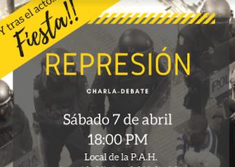 Amenazas al Acto Antirrepresivo del próximo sábado en Alcalá de Henares.