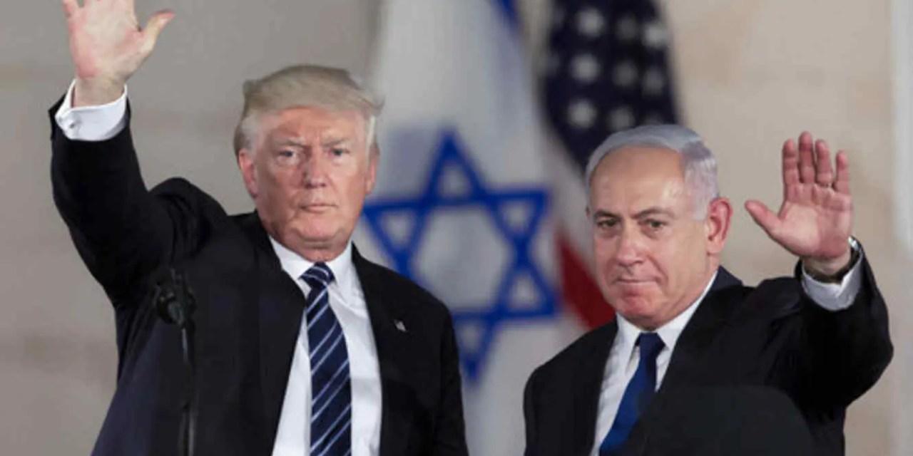 Trump entra de lleno en la campaña electoral de Israel
