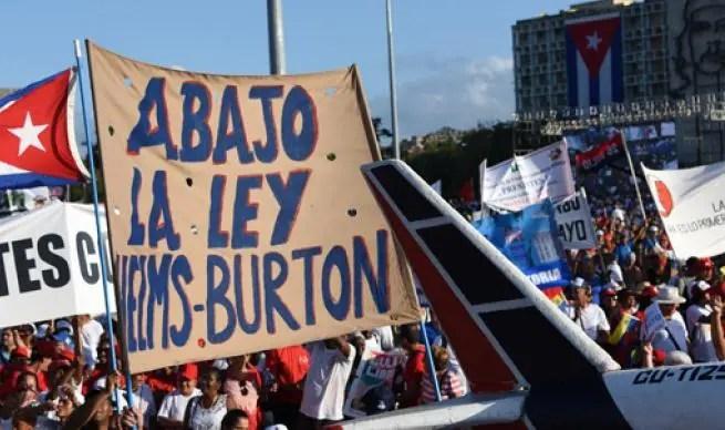 EE.UU activa título III de la ley Helms-Burton contra Cuba, pese a gran rechazo
