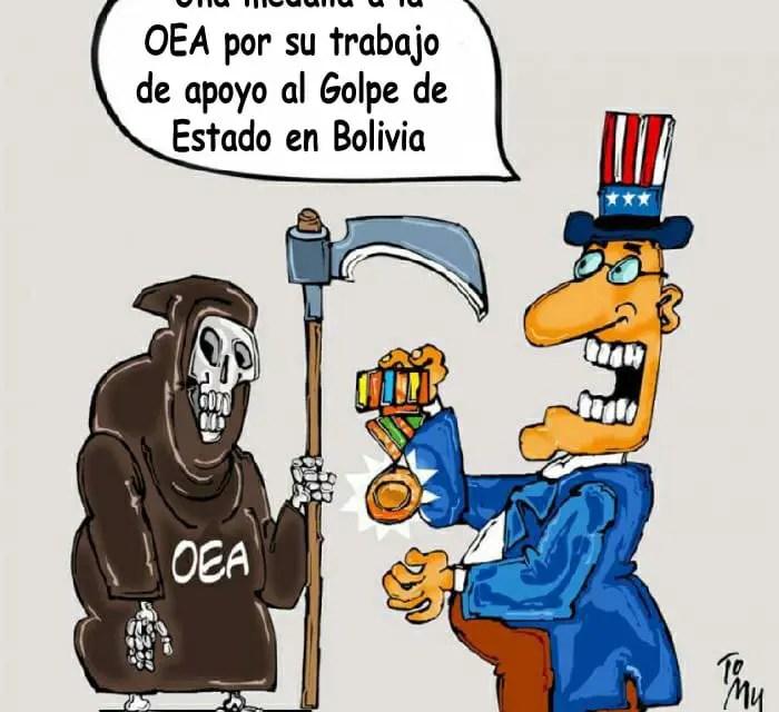 La OEA, campeona del doble rasero, impulsa el Golpe de Estado en Bolivia