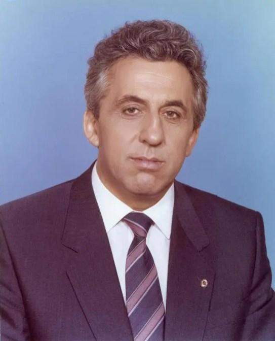 Egon Krenz, presidente del consejo de Estado de la RDA desde octubre de 1989 hasta el 7 de diciembre de ese mismo año.