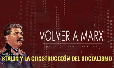 """Curso online """"Stalin y la construcción del socialismo"""""""