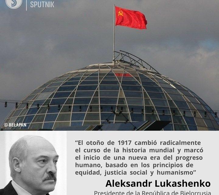 """En Bielorrusia, Occidente quiere que vuelva la bandera fascista"""". Entrevista a Albert Santin"""
